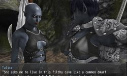 Captured by Dark Elves: Arachna's Return [The Endings(Elorae,Orc Tribe)] [Darktoz]
